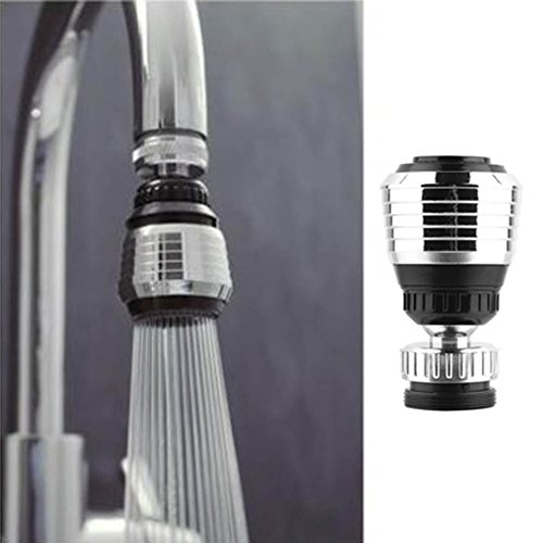 High quality Water filter 360 Rotate Swivel Faucet Nozzle Filter Adapter Water Saving Tap Aerator Diffuser Kitchen Accessories