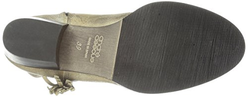 Andre Assous Womens Diaspro Western Boot Taupe