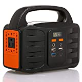 Galapara Portable Generator Charger Power Supply Station, 155Wh Emergency Backup Lithium Battery, Quiet