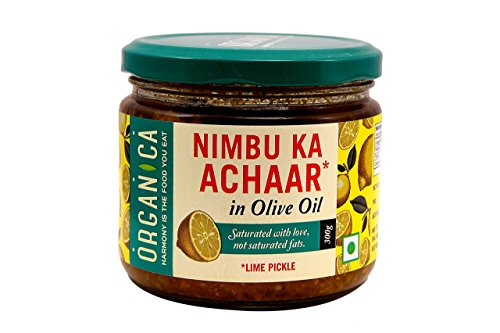 Organica Olive Oil Lime Pickle, 300g
