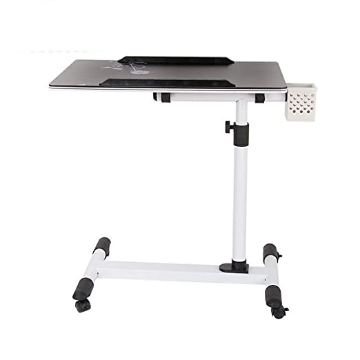 ZHEDAN Altura Ajustable Rolling Laptop Table Desk Notebook Stand ...