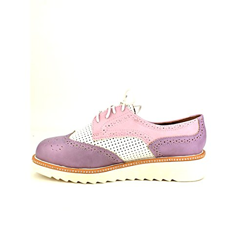 Multicolors Purple Pinka Violet Chaussures Derbies Cendriyon Femme C4x715q
