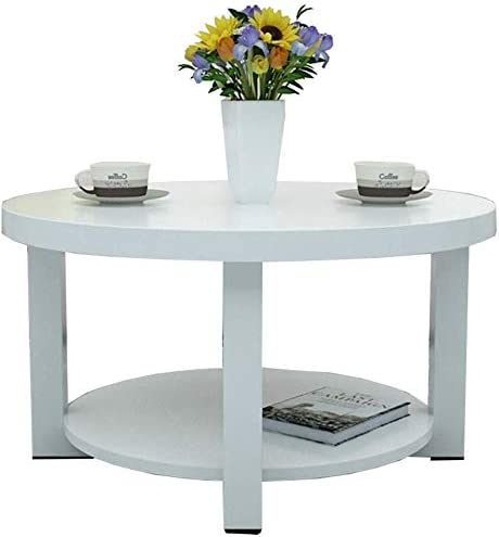 Amazon Com Laz Bedside Table Side Table Nordic Style Round Coffee