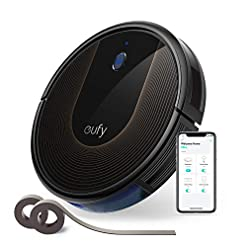 eufy Robot Vacuum Cleaner [BoostIQ] RoboVac 30C, Wi-Fi, Super-Thin, 1500Pa Suction, Boundary Strips Included, Quiet, Self-Charging Robotic Vacuum Cleaner, Cleans Hard Floors to Medium-Pile Carpets Health and Household
