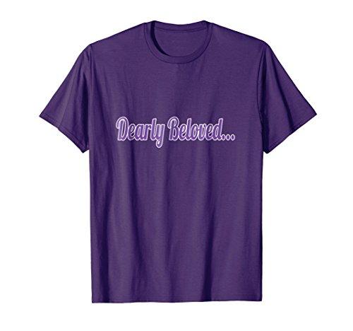 Dearly Beloved Purple T-shirt 80