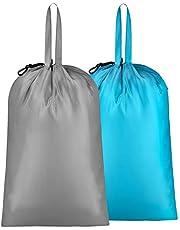 IHOMAGIC Nylon Laundry Bag with Handle Novelty Laundry Bag