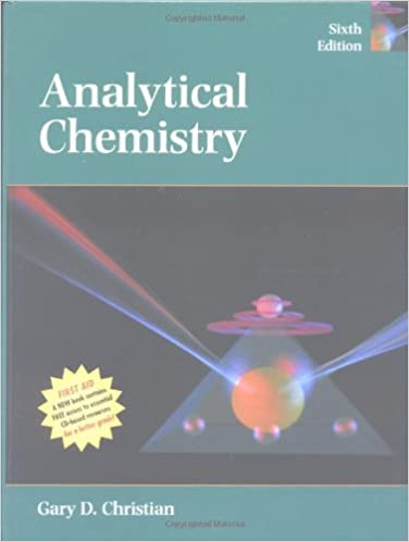 Analytical Chemistry Edition