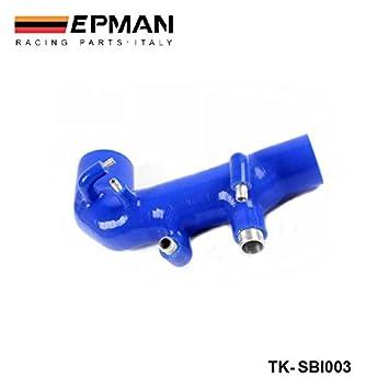 epman-silicone Intercooler Turbo ingesta manguera de inducción Kit 1pieza para Subaru Impreza WRX 00 - 07 ver. 7 - 9 (1pc) tk-sbi003: Amazon.es: Coche y ...