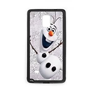 Samsung Galaxy Note 4 Cell Phone Case Black Olaf Phone Case For Girls Unique CZOIEQWMXN16529