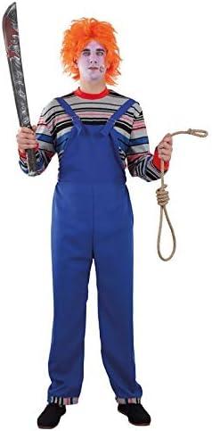 DISBACANAL Disfraz de muñeco diabólico para Hombre - -, XL: Amazon ...