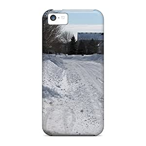 Fashionable XVTTxWG292kMdFc Iphone 5c Case Cover For Big Snow Storm Protective Case