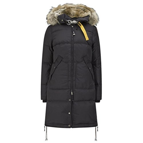 Amazon.com: Parajumpers Long Bear Down Jacket - Black (Women) - Small: Clothing