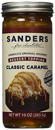 (Sanders Hot Fudge (Classic Caramel Hot Fudge Topping (Original Butterscotch Caramel), 10 oz) by Sanders®)