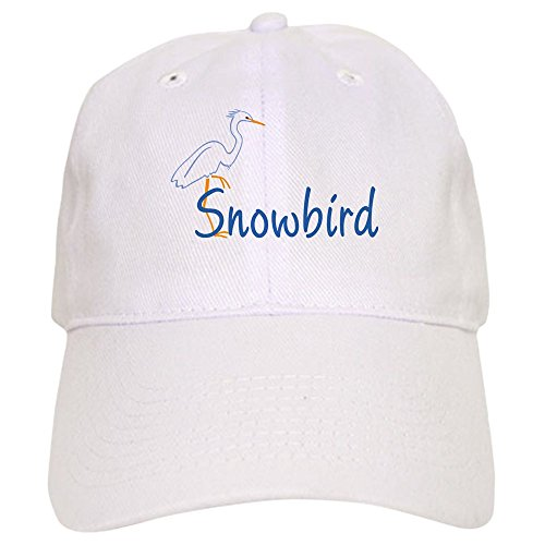 (CafePress - Snowbird Cap - Baseball Cap with Adjustable Closure, Unique Printed Baseball)