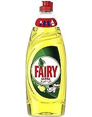 سائل غسيل الاطباق الترا المركز برائحة الليمون من فيري - 650 مل