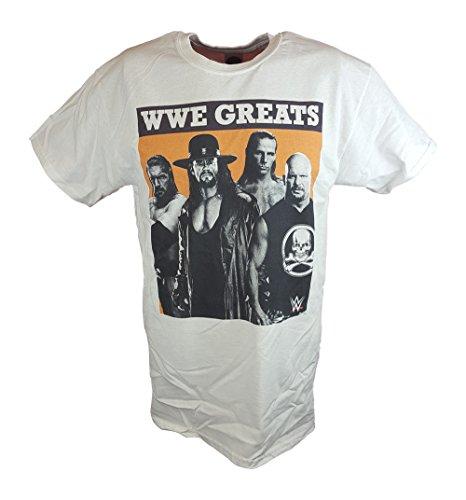 WWE Greats Triple H Undertaker Shawn Michaels Stone Cold Steve Austin T-shirt by WWE