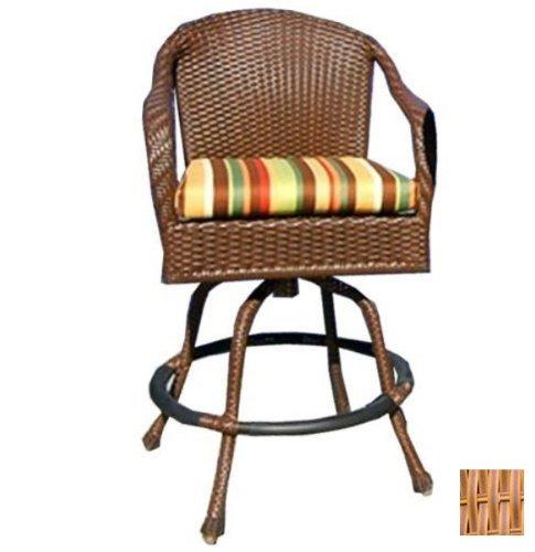 Dining Room Teak Bar Stool - Tortuga Outdoor Garden Patio Lexington Bar Chair - Mojave
