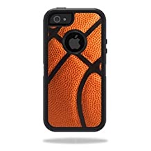 Mightyskins Protective Vinyl Skin Decal Cover for OtterBox Defender iPhone 5/5s/SE Case wrap sticker skins Basketball