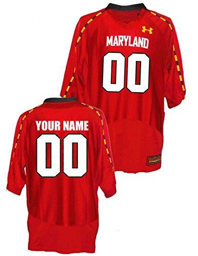 - NCAA Custom University of Maryland Terrapins Football Jersey (Large)