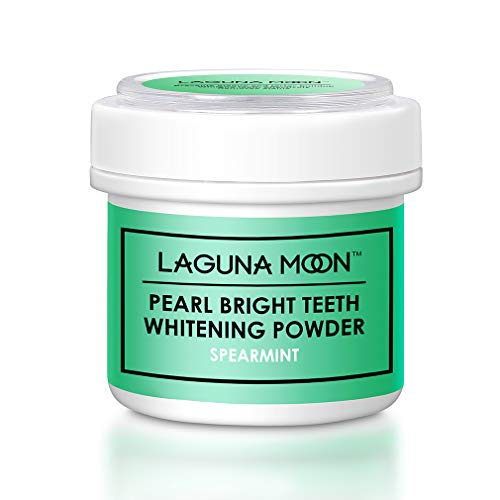(Lagunamoon Pearl Bright Teeth Whitening Powder,Natural Tooth & Gum)