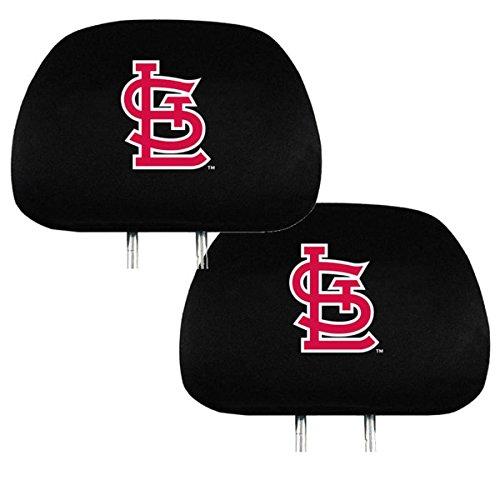 Promark Headrest Covers - Team ProMark Official Major League Baseball Fan Shop Authentic Car Truck Auto MLB Headrest Cover (St. Louis Cardinals)