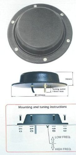 Sirio LPA 380 Low Profile Antenna (380-430mhz)
