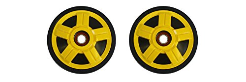 Ski Doo Idler Wheel (PDD Outside Rear Yellow Idler Wheels Kit for Snowmobile BOMBARDIER/SKI-DOO All models RF/RT 2005-2007)