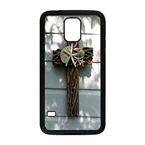 WJHSSB Customized Print Jesus Christ Cross Hard Skin Case For Samsung Galaxy S5 I9600