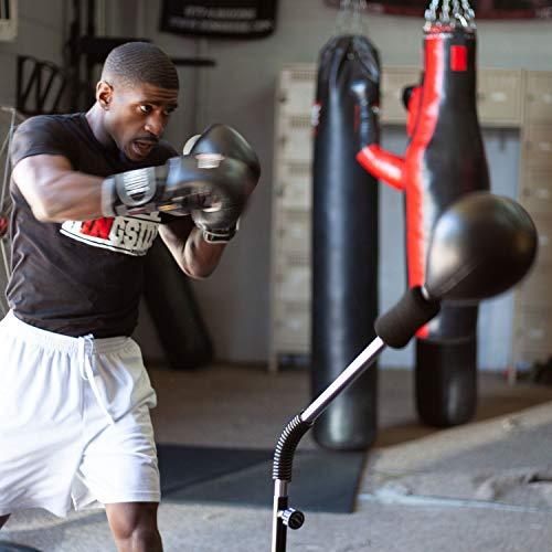 Ringside Cobra Reflex Free-Standing Adjustable Boxing Fitness Workout Punching Bag (Pro Punching Bag)