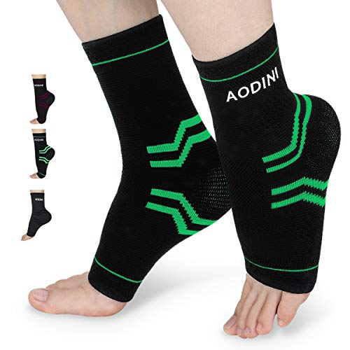 Plantar Fasciitis Socks, Ankle Brace Compression Support Sleeves & Arch Support, High Arch Support Foot Compression Sleeves for Men & Women