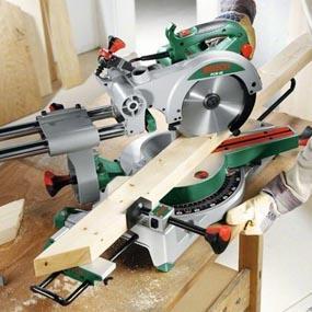 Scie à onglet et scie radiale avec fonction coulissante - Bosch - 02