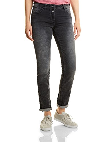 Taglio A Grau 10189 Used Dritto Tapered grey Donna Wash Cecil Charlize Jeans qxwgUUpI
