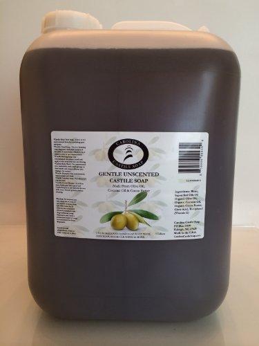 Gentle Unscented Castile Soap 5 Gallon Jug | Certified Organic (Soap Castile Wholesale)