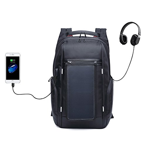 Backpack With Solar Charger - 9