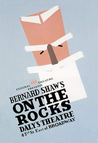 Buyenlarge Bernard Shaw's on The Rocks Daly's Theatre 63rd St. East of Broadway by Ben Lassen Wall Decal, 36