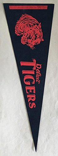 Late 1960's-Early 1970's Bazooka Pennants Detroit Tigers EX/EX-MT Kit Young Cards
