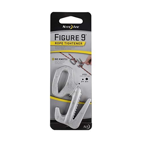 Nite Ize Figure 9 Rope Tightener Large Aluminum Tie Down Knot Tool (4-Pack)
