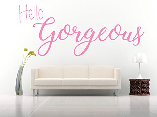 hello-gorgeous-quote-vinyl-wall-art-sticker-mural-decal-home-wall-decor-bedroom-bathroom-dressing-ro