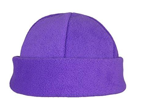 Hat hombres Beanie para Gorro polar de cálido Ski Fleece invierno Purple de muy forro hecho mujeres y zZq7zS