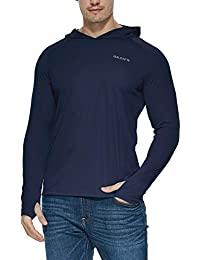 647df3fb7 Men's/Youth UPF 50+ Sun Protection Hoodie Long Sleeve Performance T-Shirt