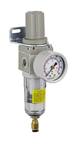 PneumaticPlus SAW2000M N02BDG Miniature Compressed Regulator