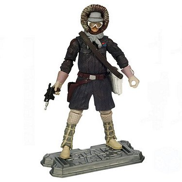 Star Wars, Saga Legends 2010 Series Action Figure, Han Solo [Hoth Gear] #SL22, 3.75 Inches