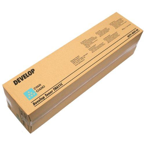 Genuine Konica Minolta Bizhub C451 C550 C650 TN611C Cyan Toner A070430