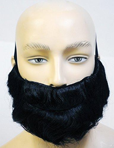 Lacey Wigs Biblical Beard Blond Costume Wig ()