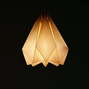 Brownfolds paper origami lamp shade vanilla bliss single pack pearl brownfolds paper origami lamp shade vanilla bliss single pack pearl gold aloadofball