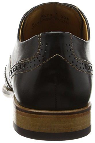 FRETZ men Jack - Zapatos de cordones derby Hombre Negro - Schwarz (51 noir)