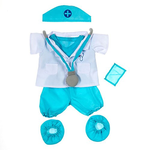 [Doctor Outfit Teddy Bear Clothes Fit 14