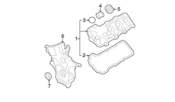 Ford BT4Z-6019-B Engine Timing Cover