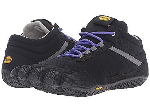 - Vibram Trek Ascent Insulated-Women's Sneaker, Black/Purple, 36.0 B EU (6.5-7 US)