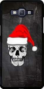 Funda para Samsung Galaxy Grand Prime (SM-G530) - Cráneo Padre Navidad by wamdesign